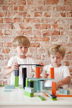 Load image into Gallery viewer, PRE-ORDER: 6 Piece Tegu Pocket Pouch Prism Magnetic Wooden Block Set