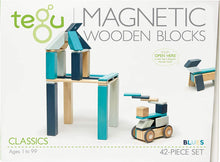 Load image into Gallery viewer, PRE-ORDER: 42 Piece Tegu Magnetic Wooden Block Set