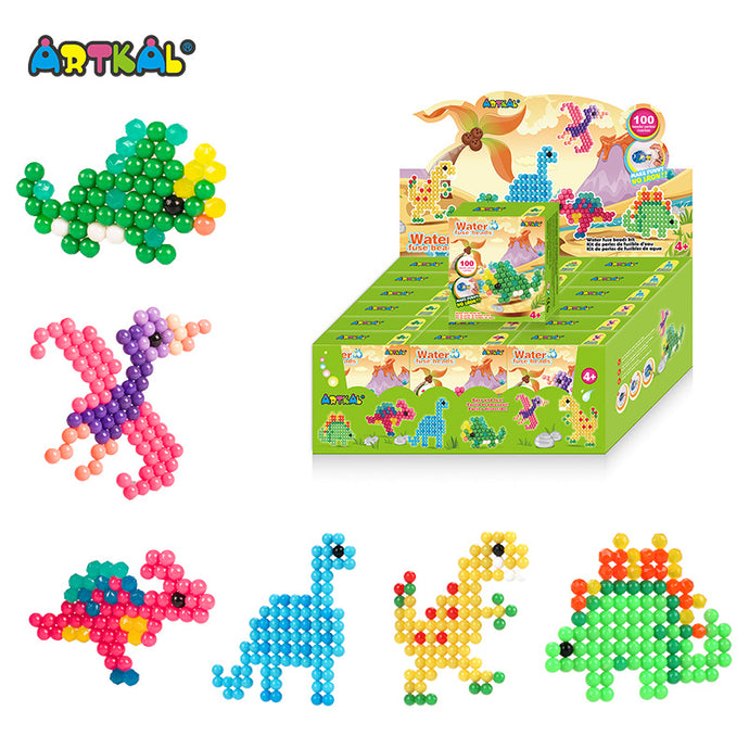 ARTKAL Water Fuse Beads - Dinosaurs (Single)