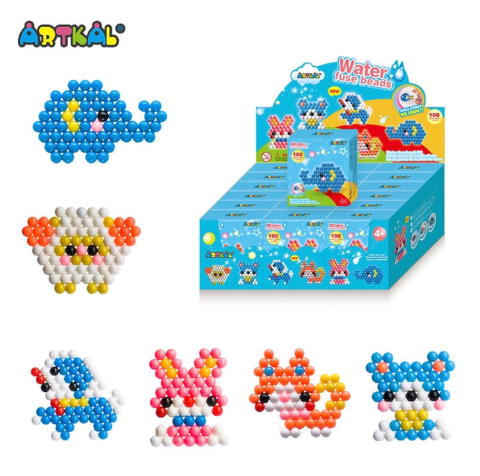 ARTKAL Water Fuse Beads - Animals (Single)