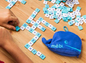 Möbi - The Numerical Tile Game in a Whale Pouch