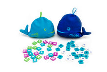Load image into Gallery viewer, Möbi Kids - The Numerical Tile Game for Kids in a Whale Pouch with Activity Booklet