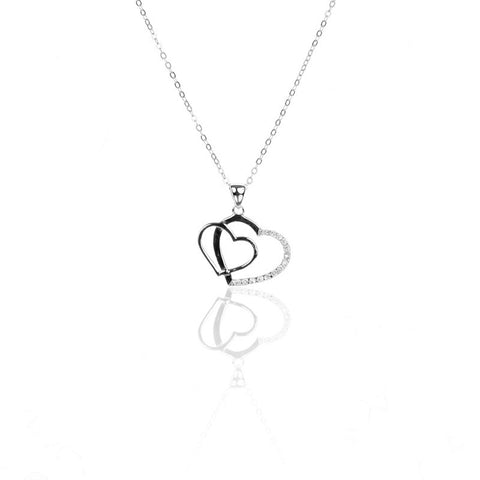 HEART to HEART 925 Sterling Silver Pendant