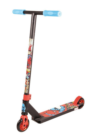 Trottinette cascade Madd Extreme Marvel SpiderMan / my-trottinette.fr