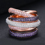 Monaco Design Luxury Statement Stackable Ring