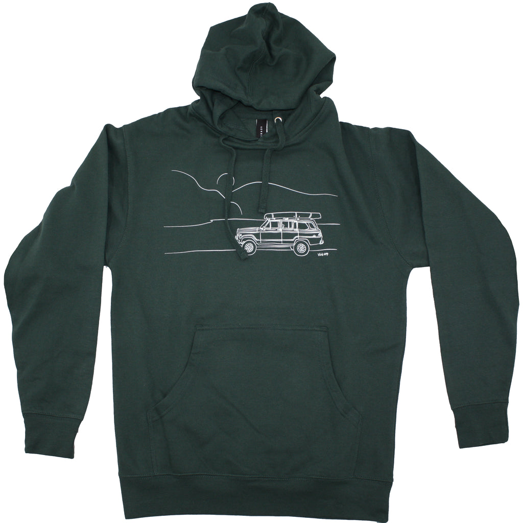 Jeep inspired sweatshirt