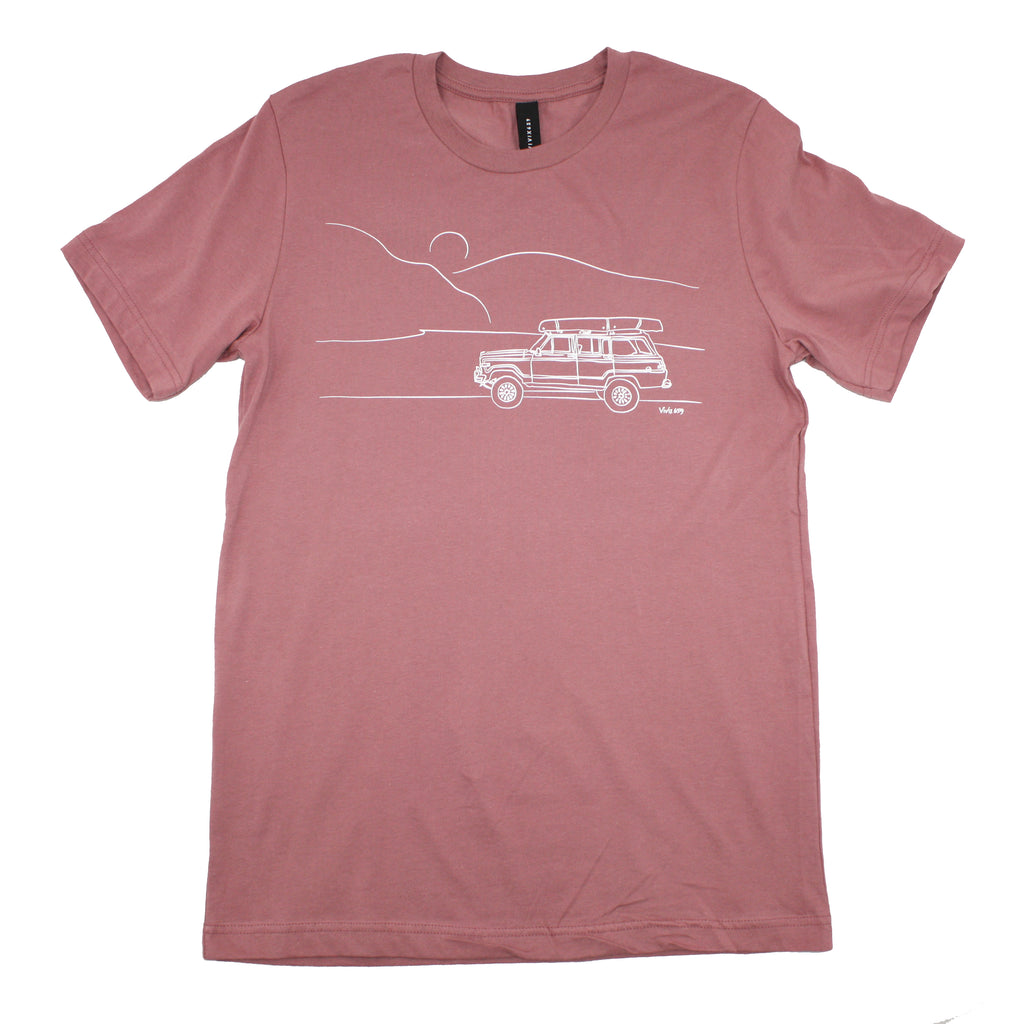 Vivix 659 Mens Jeep tee shirt