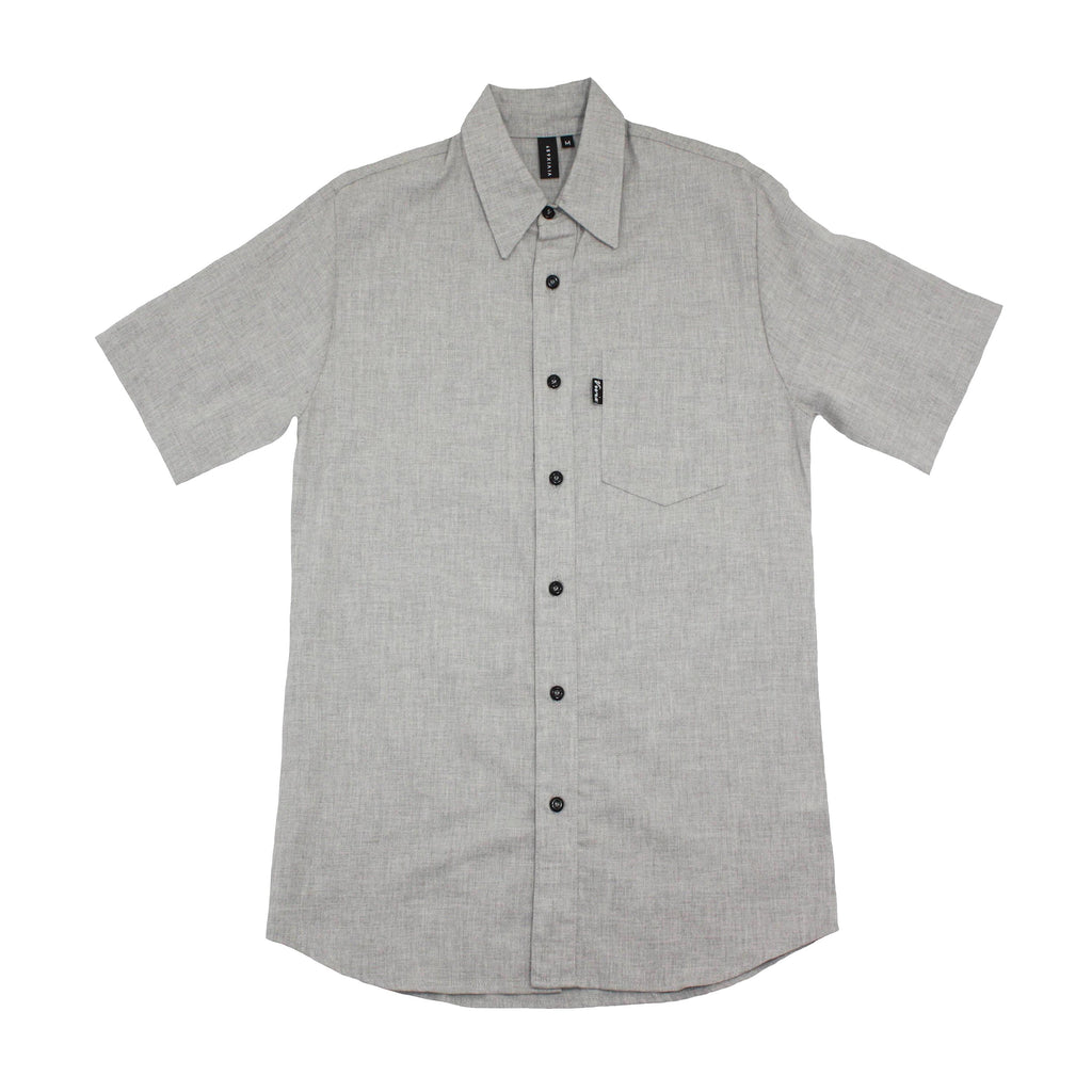 Vivix 659 Mens Woven Button Up