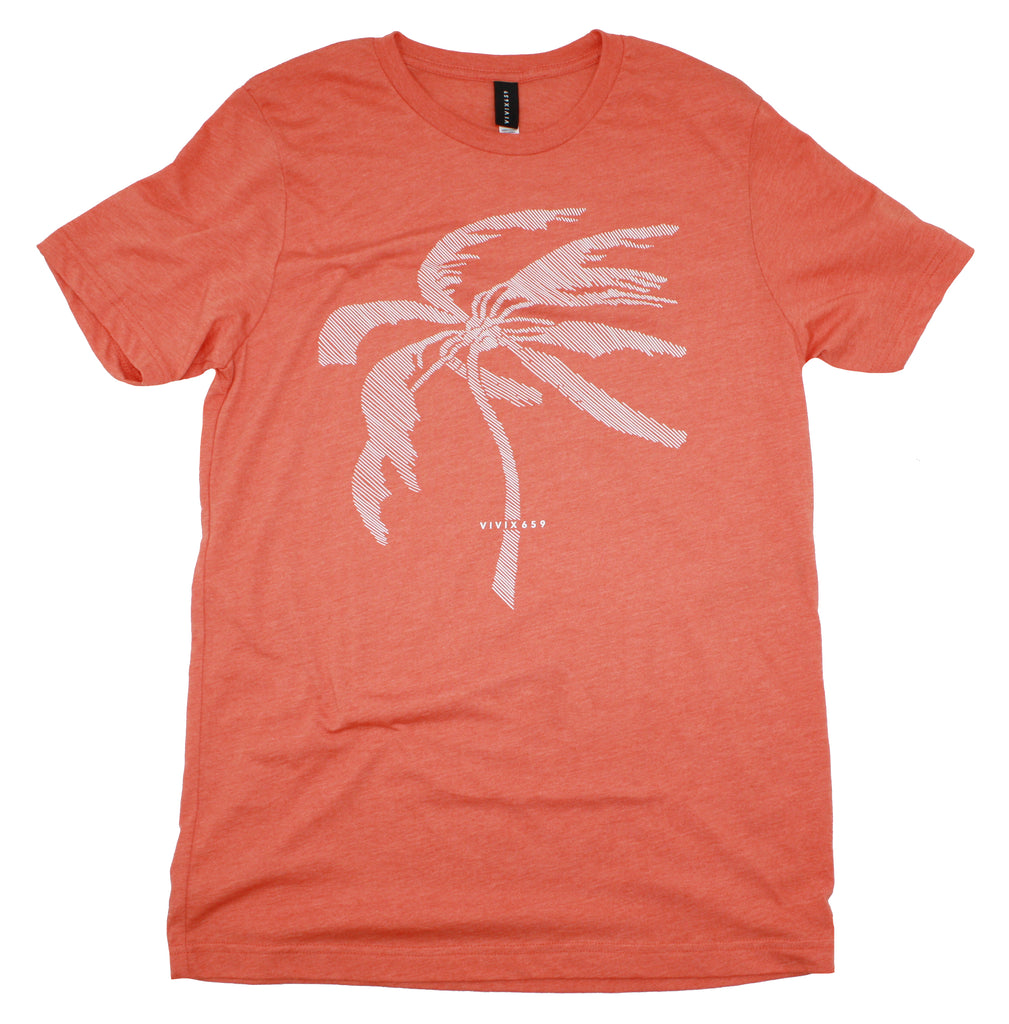 Mens palm tree tee shirt