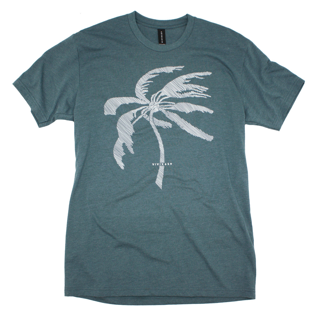 Palm tree tee shirt