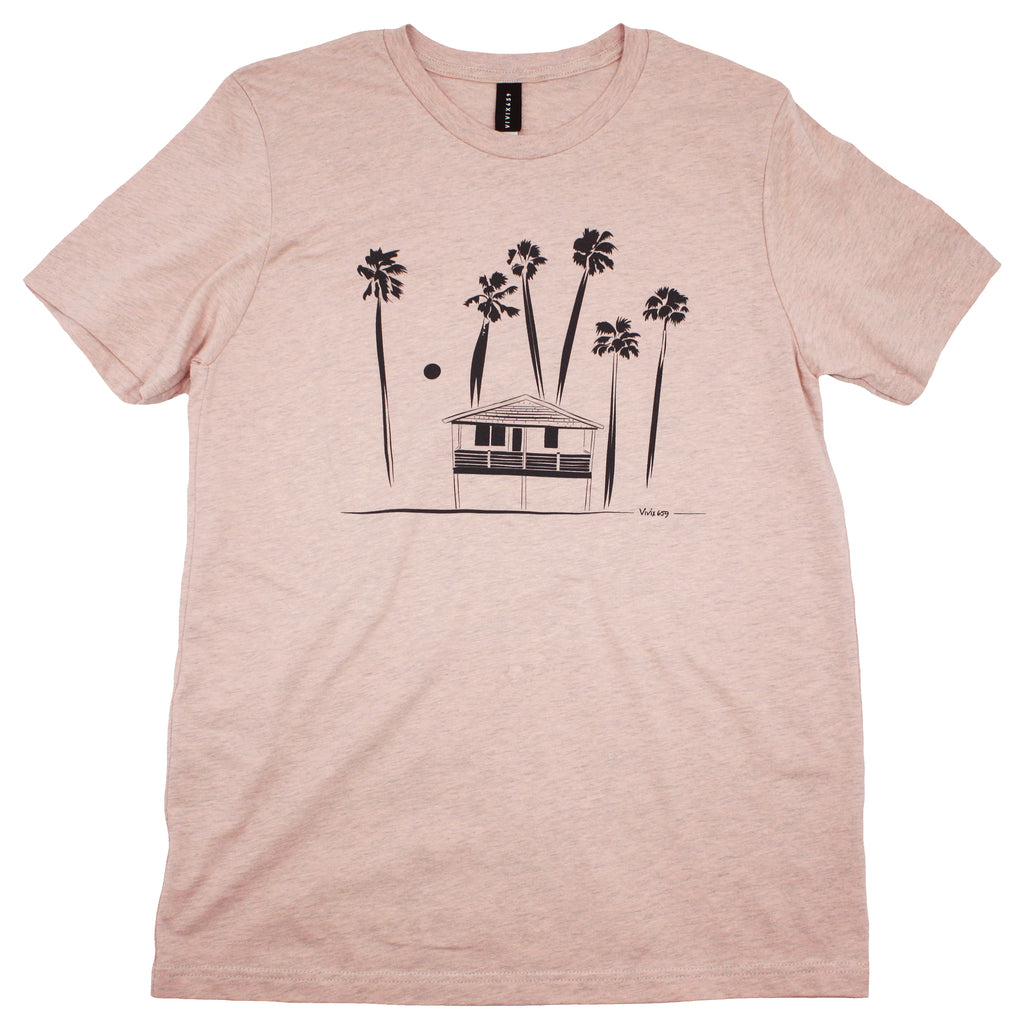 Hawaiian bungalow tee shirt