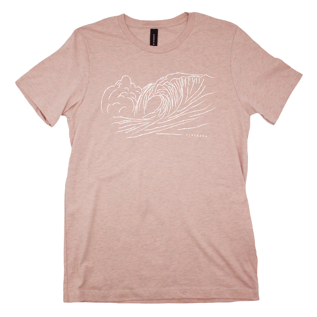 Crashing waves t shirt