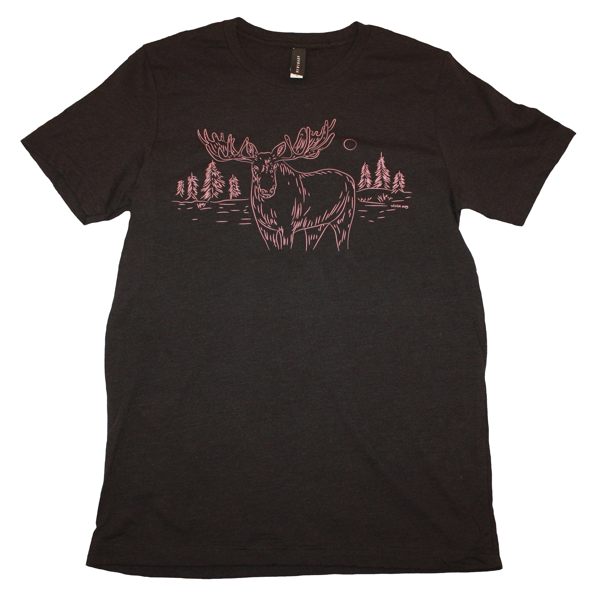 Mountains and animals t shirt