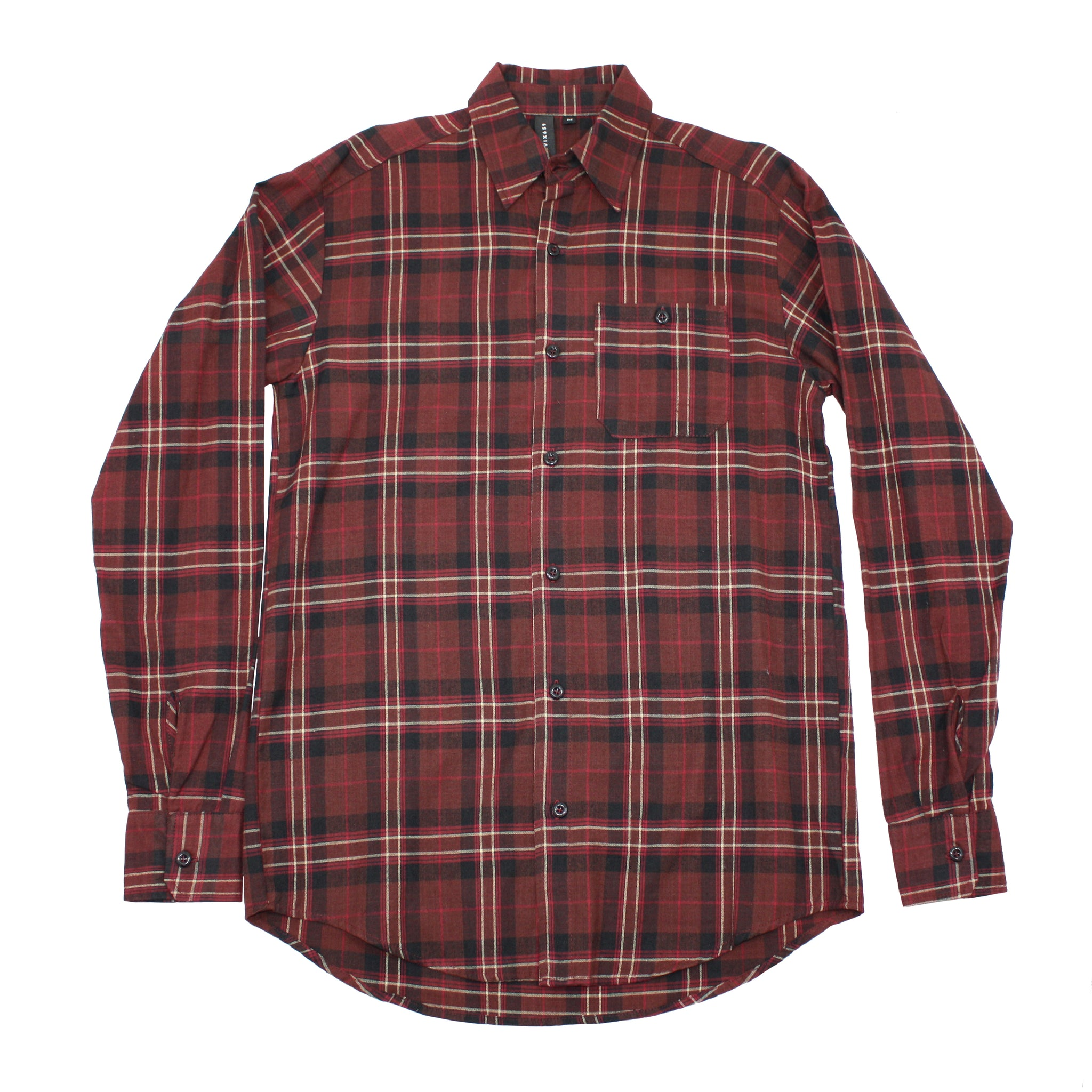 American made marron flannel