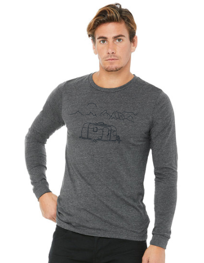 Mens Long sleeve airstream tee shirt