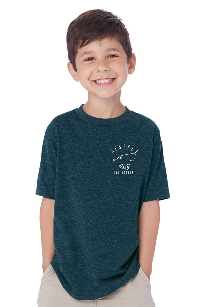 Art inspired boys shark t shirt
