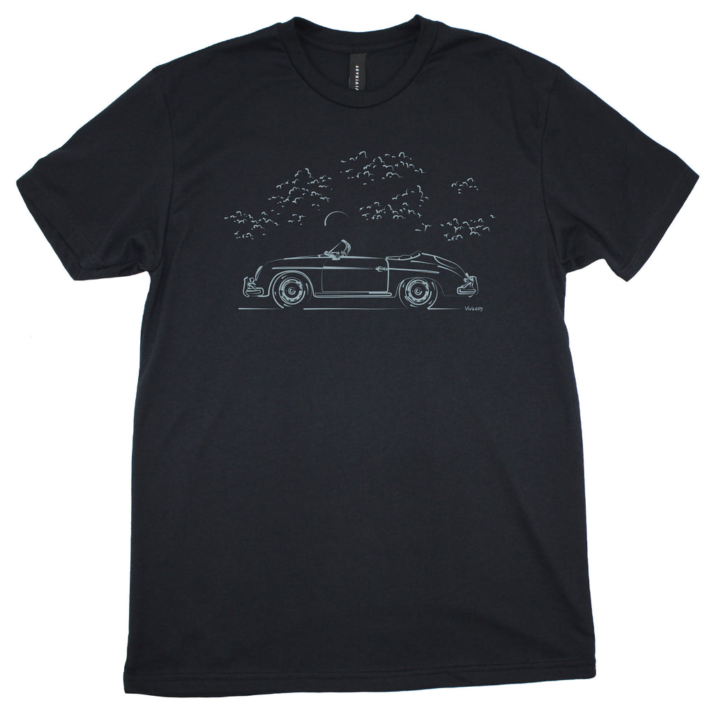 Mens graphic Porsche Speedster t shirt