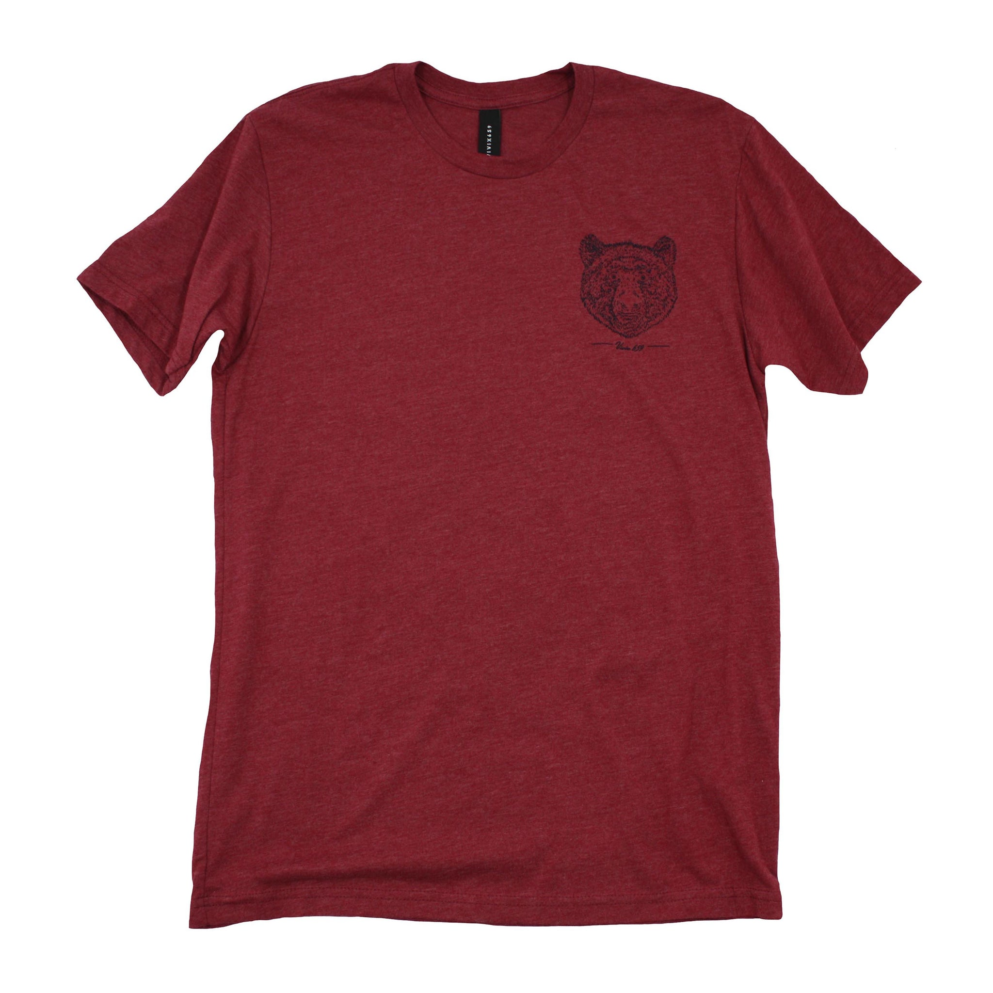 Mens grizzly bear tee shirt