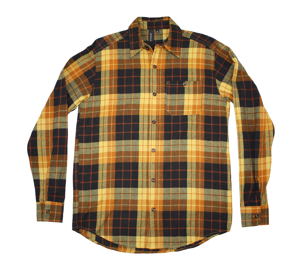 Mens plaid flannel