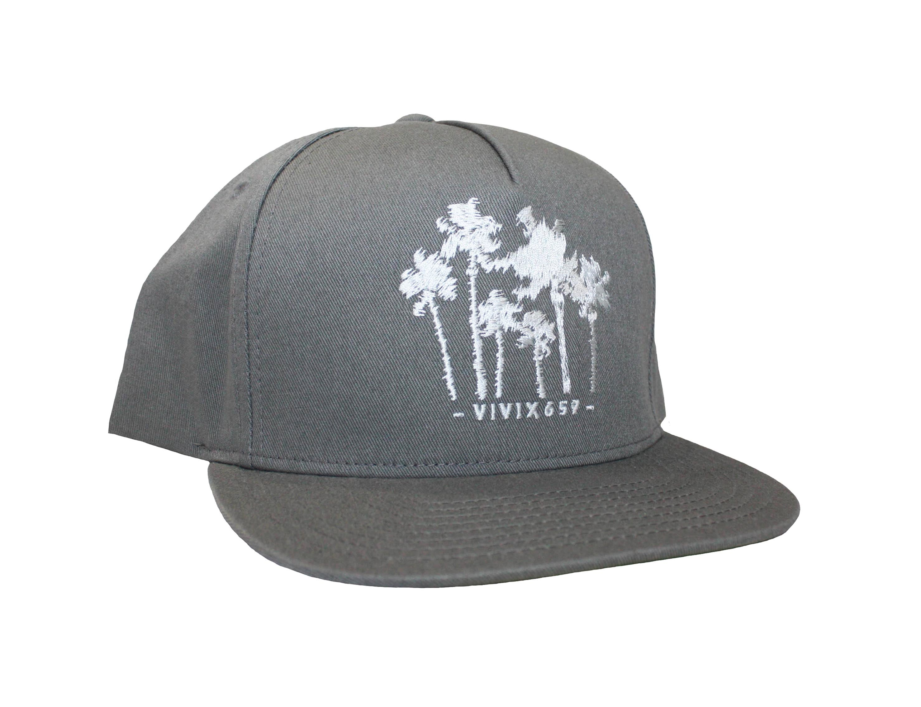 Vivix 659 Brand  Mens and Womens Graphic Palm Tree Mesh Hat 86e5fb4294