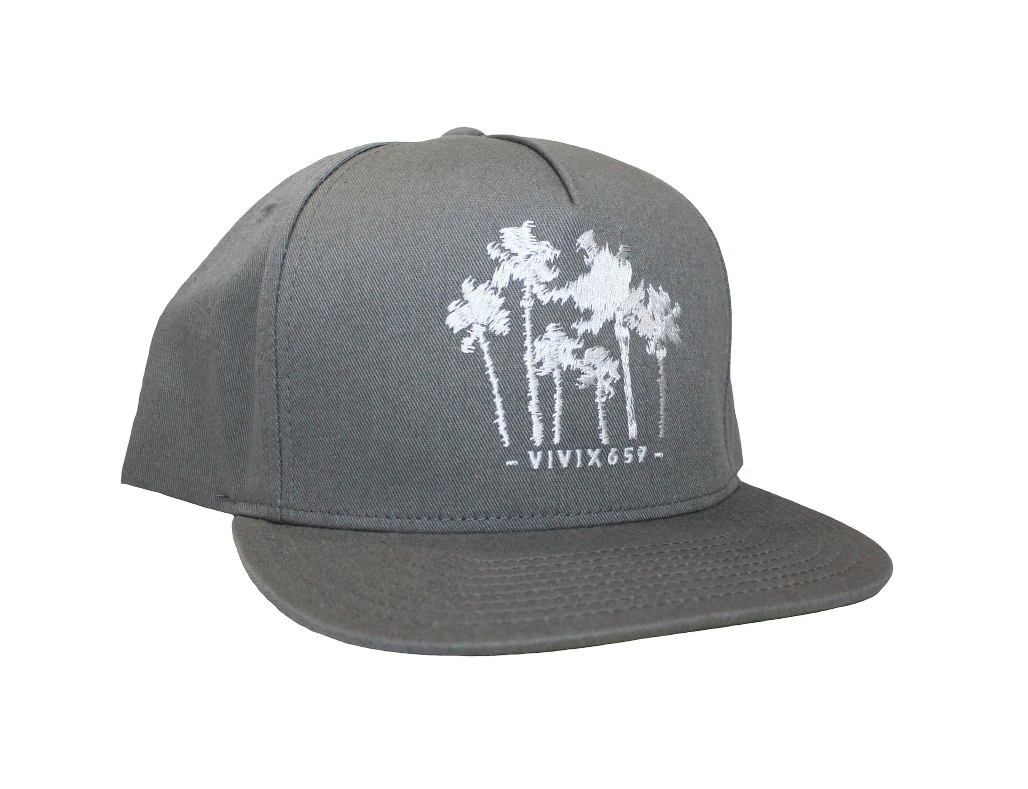 Vivix 659 embroidered palm tree hat