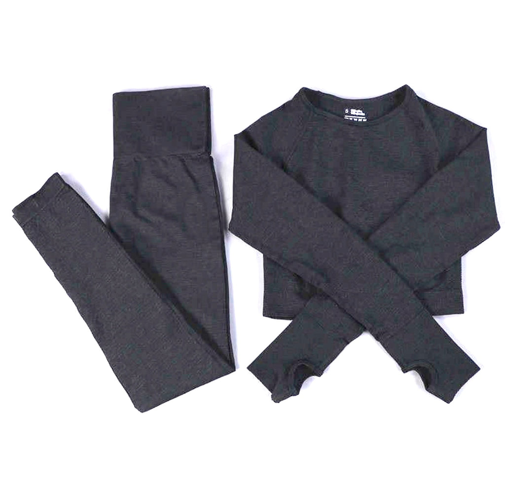 Dynamic seamless full set long sleeves