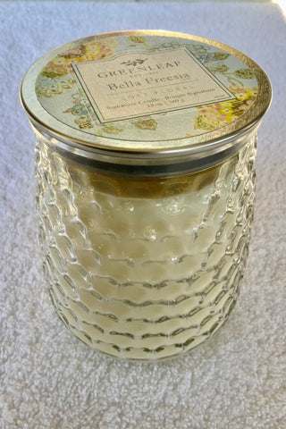 Bella Freesia Signature Candle - So Popular!