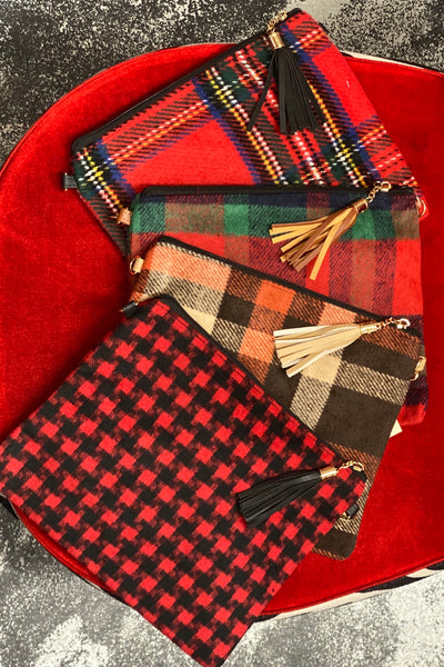 Plaid Crossbody Bags Are Here!