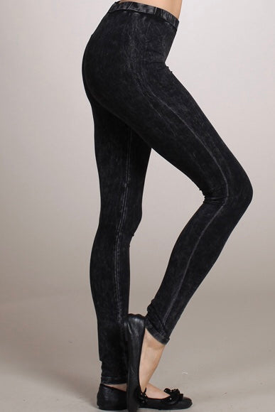 Our Favorite Mineral Wash Leggings - Wild & Personal Boutique