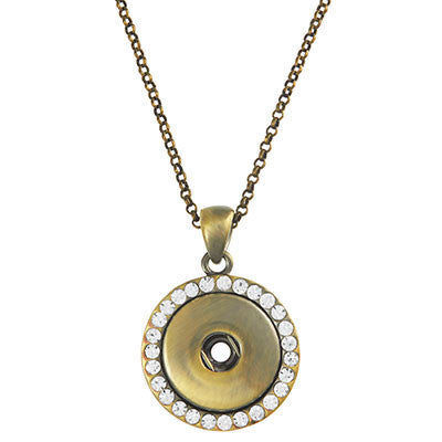 Ginger Snaps AB Bling Necklace - Wild & Personal Boutique