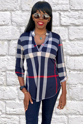 Our Favorite Shirt In Many Colors - Burberry Print