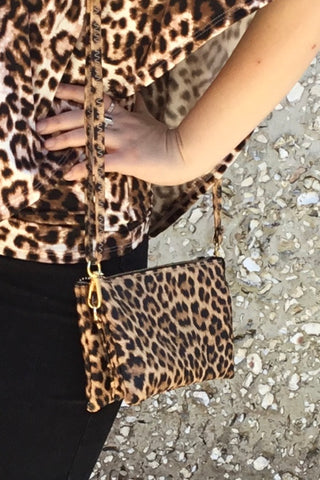 Leopard Crossbody Bag - Wild & Personal Boutique