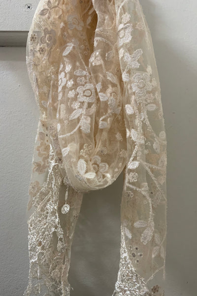 Lace Scarves Are Enhancing!