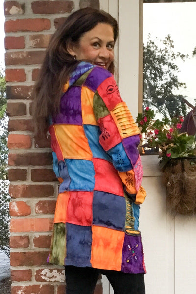 Most Wanted! Multi Patchwork Jacket - Wild & Personal Boutique