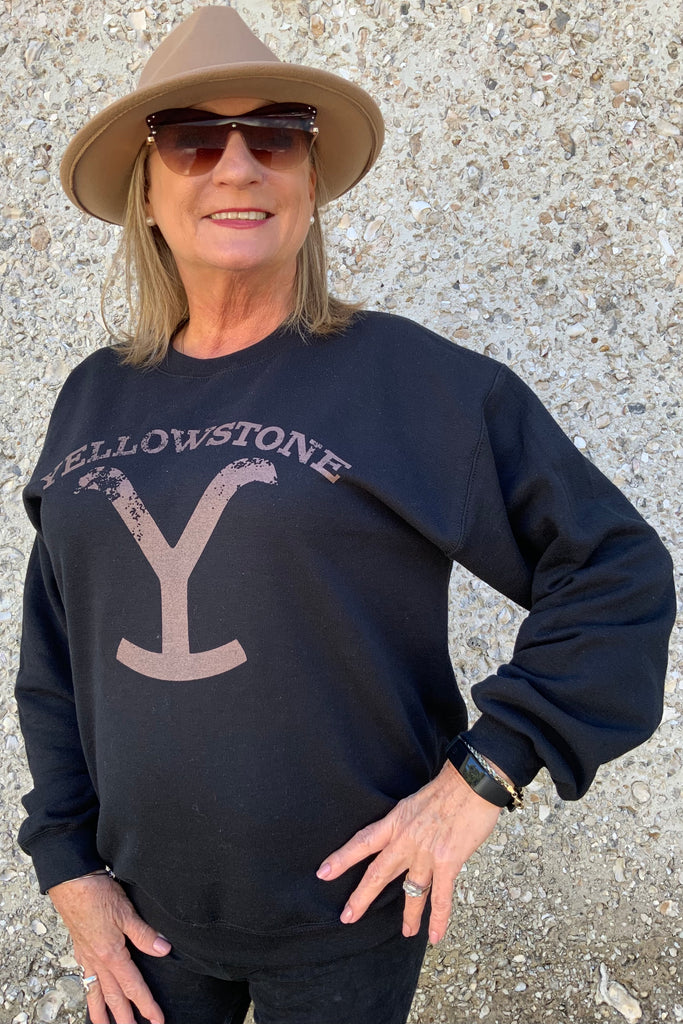 """Yellowstone"" Cowgirl Sweatshirt"