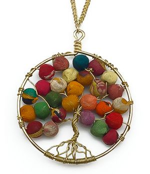 Tree of Life Necklace by Aasha