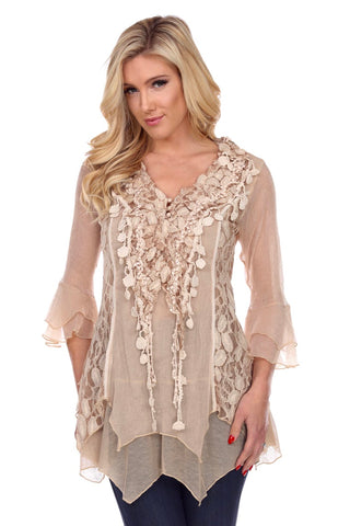 Classy & Sexy Pretty Angel Lace Top In 4 Colors