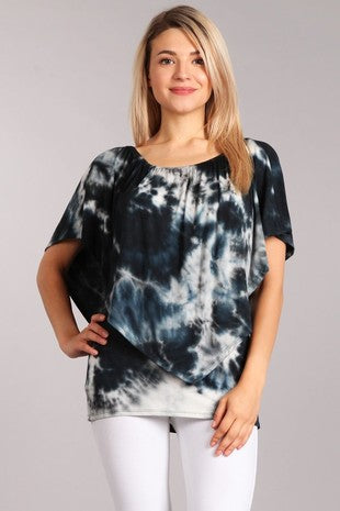 Soft Four Way Tye Dye - Wild & Personal Boutique