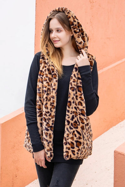 The Leopard Vest That Is So Soft And Cozy!