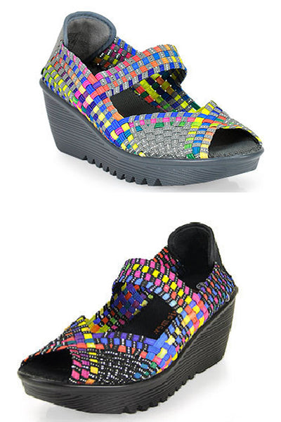 Bernie Mev - Halle Multi Wedge - Wild & Personal Boutique