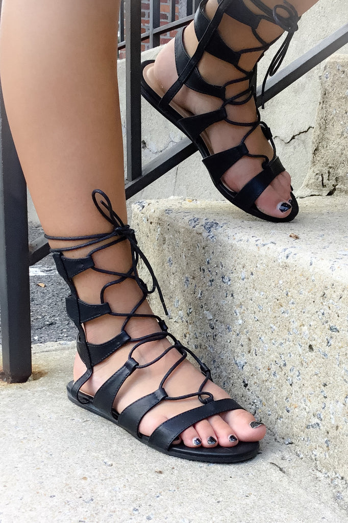 Return To Rome Gladiator Sandals - Wild & Personal Boutique