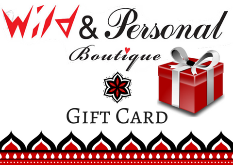 Gift Card - Wild & Personal Boutique