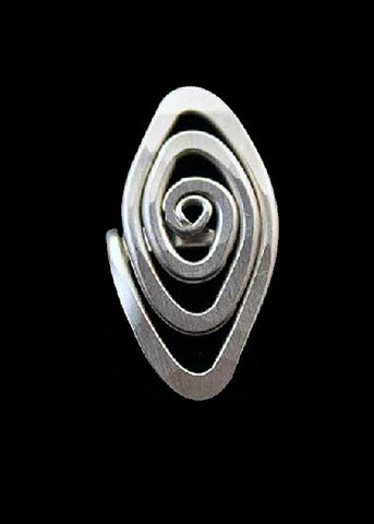 Spiral Eye Ring - Wild & Personal Boutique