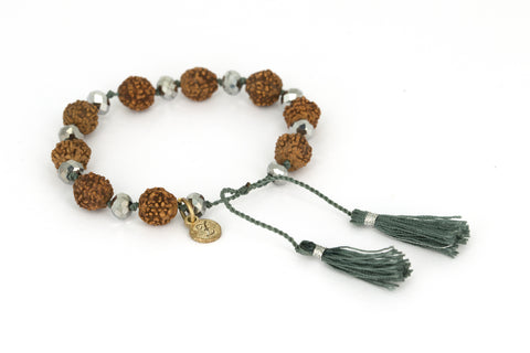 Bling Bling Rudraksha with silver