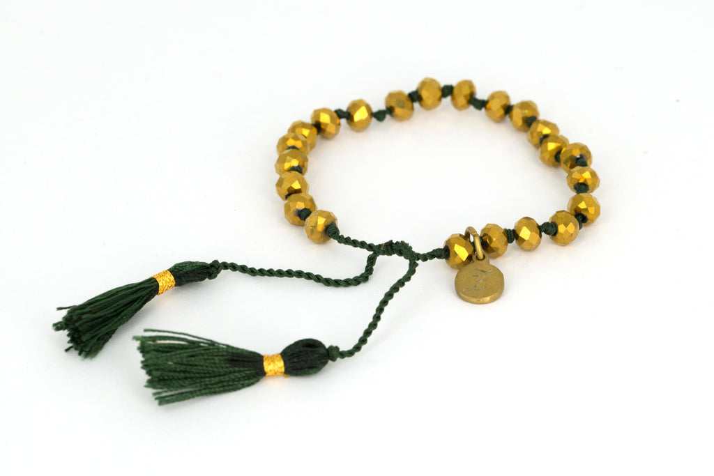 Bling Bling - Gold/Dark Green