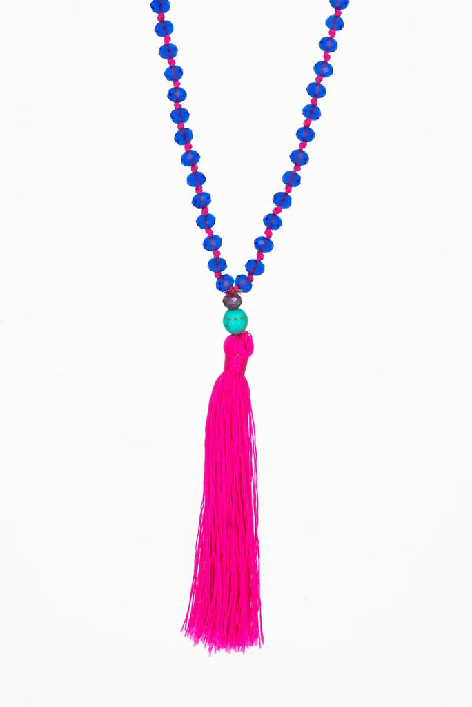 Bling-Bling Necklace Blue/Pink