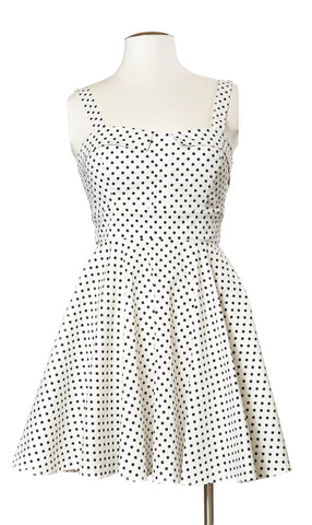 Delicate Dot Tie Back Dress