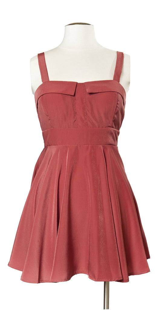 Nob Hill Night Out Dress in Soft Blush