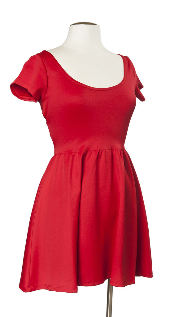 Across the Pond Dress in Red