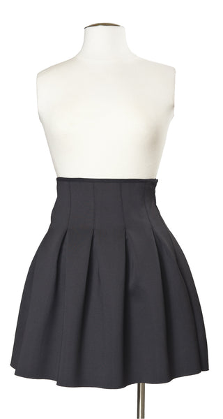 Advanced Placement Pleated Skirt in Black